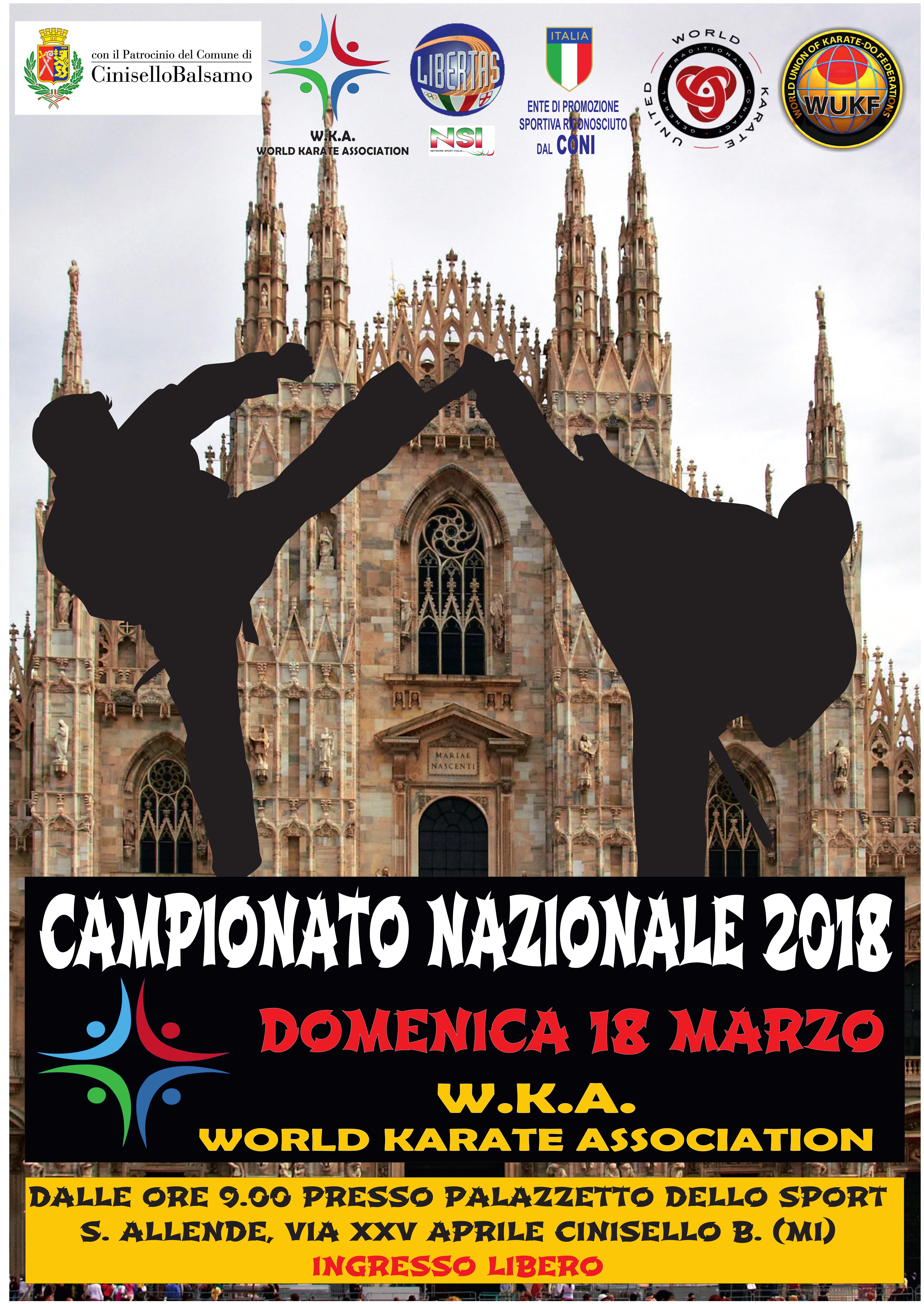 Sito ufficiale del Comune di Cinisello Balsamo - CAMPIONATO