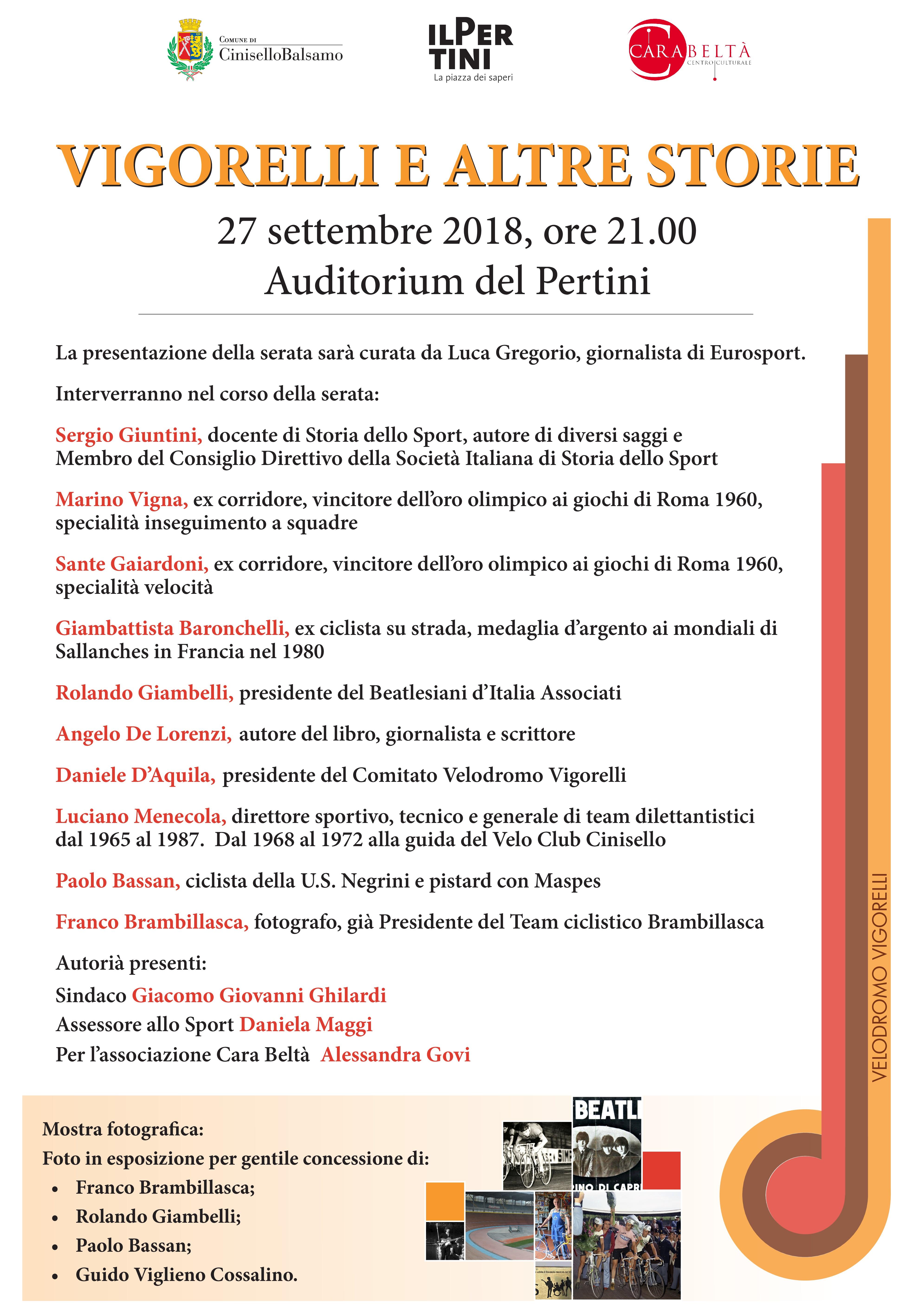 Sito ufficiale del Comune di Cinisello Balsamo - Vigorelli e altre ... 8c7f8f10d26
