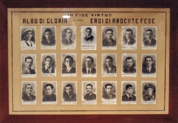 In ricordo dei martiri della Resistenza e della deportazione (sede ANPI)