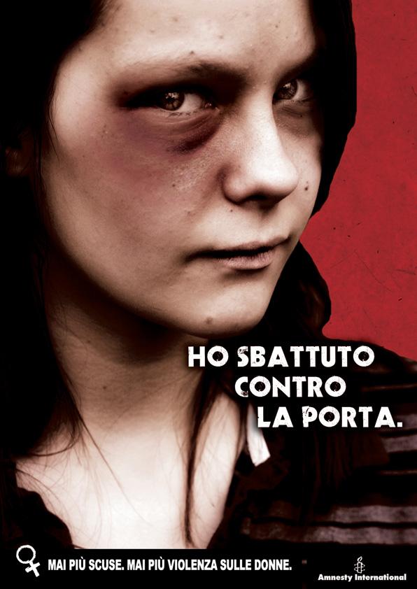 Image result for pubblicità progresso violenza sulle donne