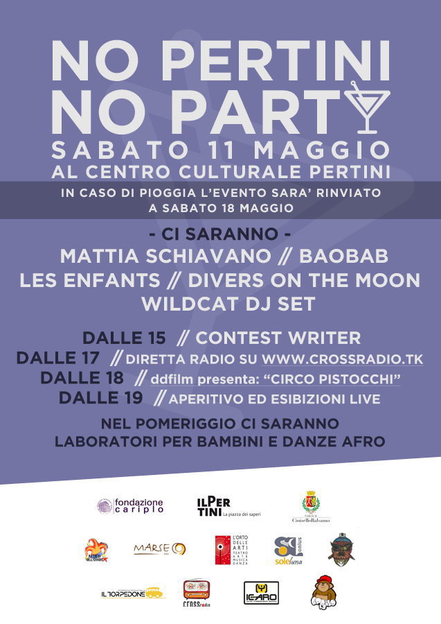 Manifesto No Pertini No Party