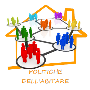 Logo ABITARE SOCIALE, proposta